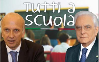#TuttiaScuola inaugura l'anno scolastico 2018-2019 !