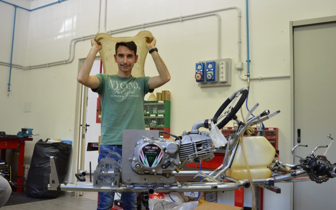 Edoardo Bachis: il Sogno di costruire un Go Kart diventato Realtà.