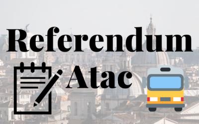 Referendum Atac: tutto ciò che c'è da sapere!